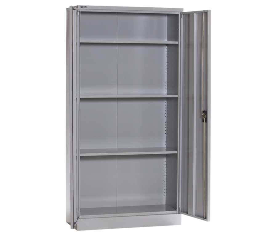 Charmant RXL101SW Full Height Office Cupboard With 3 Adjustable Shelves